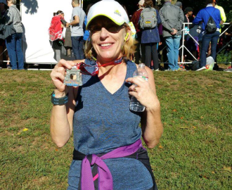 The amazing Alison Cairns ran the Brooklyn Half Marathon raising $1,290